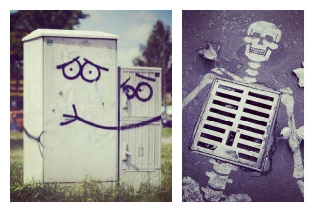 10 atti vandalici considerati gesti creativi che migliorano le città