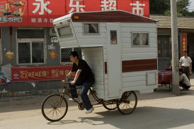 Camper bike, la casa sulla bici che viene sempre con te