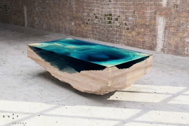 Abyss Table: il tavolo che mostra le profondità dell'oceano