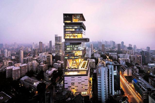 Antilia, la casa più costosa e grande del mondo