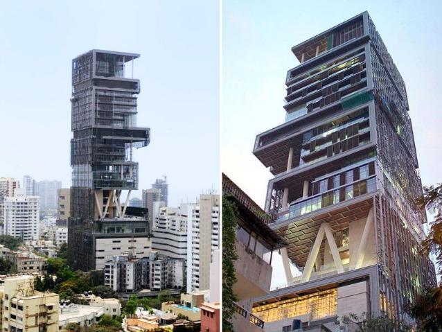 Antilia la casa pi costosa e grande del mondo for Grande design della casa