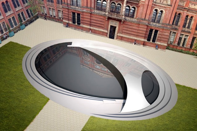 Zaha Hadid debutta al London Design Festival con Crest