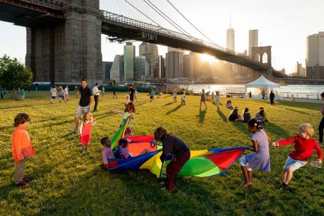 Brooklyn Bridge Park: ecco il parco con vista mozzafiato su Manhattan