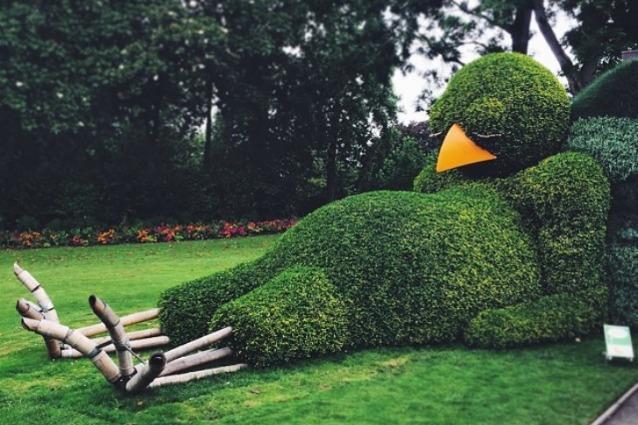 Nantes, l'arte topiaria di Claude Ponti conquista grandi e piccoli