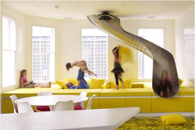 Rainbow House: da abitazione tradizionale a casa dei divertimenti