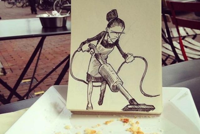 Cartoonbombing: quando gli schizzi prendono vita