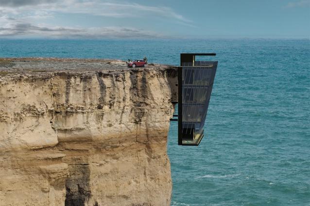 Cliff House: la casa sospesa sull'oceano australiano