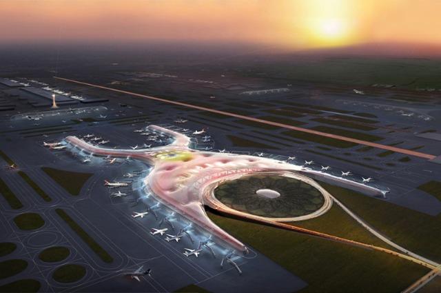 Città del Messico, ecco come sarà il futuro aeroporto di Norman Foster