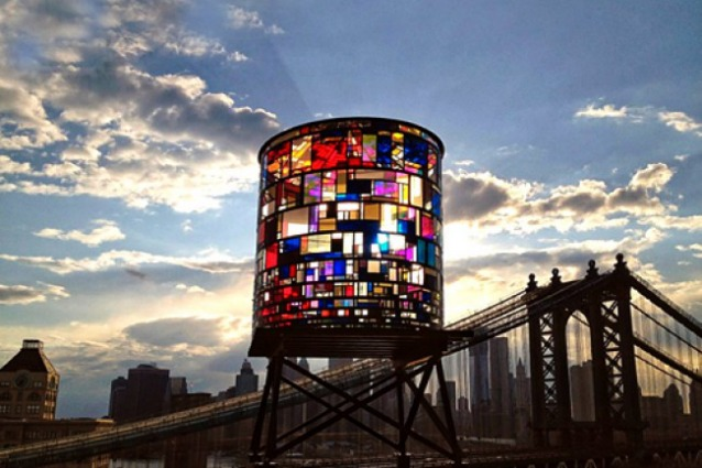 Water Tank Project, l'arte sopra New York