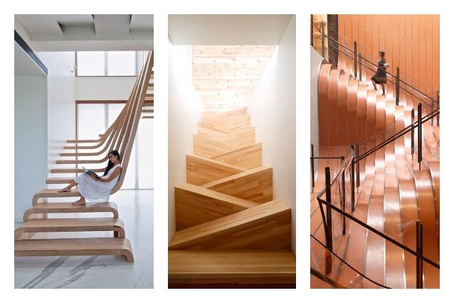 Le 20 scale moderne più creative al mondo