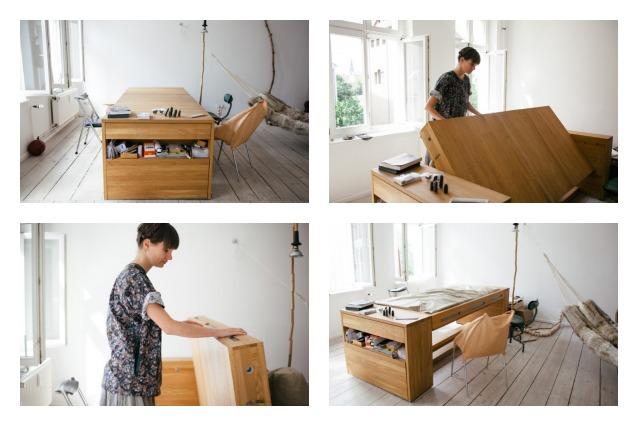 Workbed, la scrivania che diventa letto