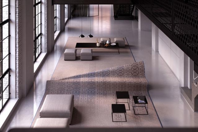 Stumble Upon Sofa, il primo tappeto che diventa sofà