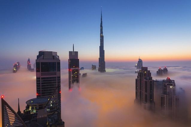 Dubai, il Burj Khalifa è il punto di osservazione più alto del mondo