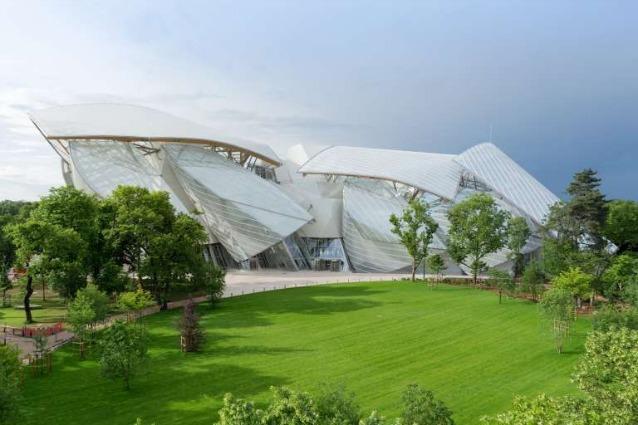 Parigi, apre la Fondation Louis Vuitton firmata Frank Ghery