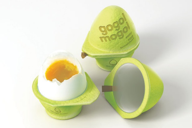 Gogol Mogol, il cartone che cucina un uovo in due minuti