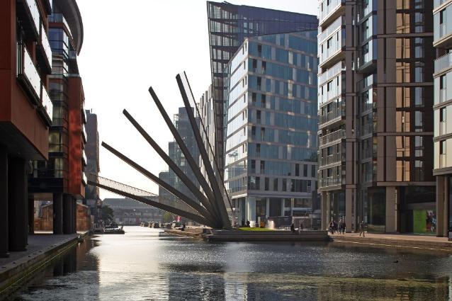 Londra, ecco il primo ponte che imita un ventaglio