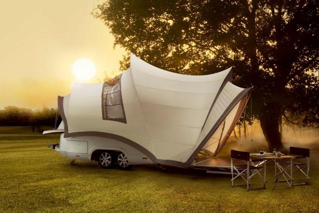 Opera: il camper ispirato alla Sydney Opera House