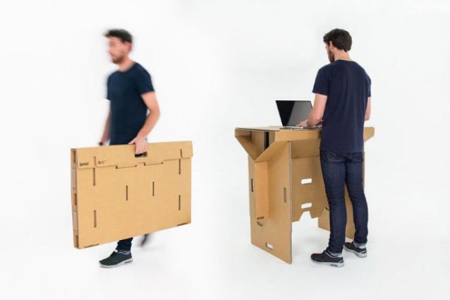 Refold, la scrivania portatile contro la sedentarietà