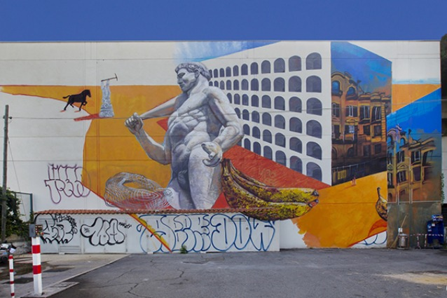 Roma come New York: la Street Art conquista la Capitale