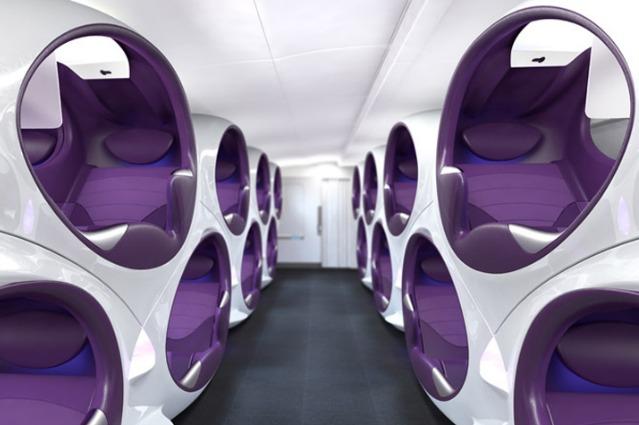 Air Lair: capsule al posto di sedili, ecco il futuro degli aerei