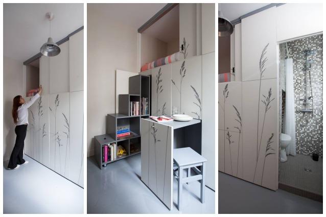 Parigi, vivere in 8 metri quadri ma con tutti i comfort