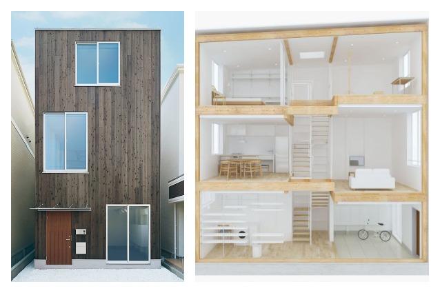 Progetta la tua casa con la prima abitazione prefabbricata di MUJI