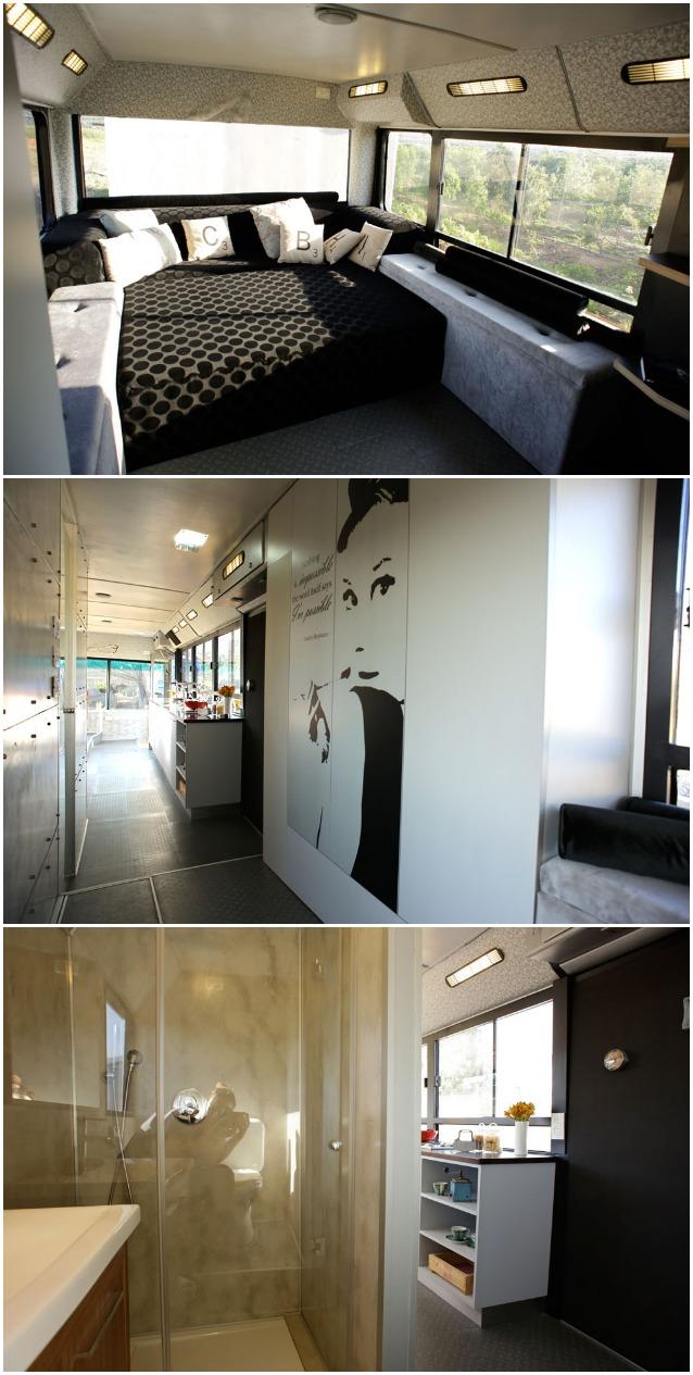 Come trasformare un vecchio autobus in una casa di design for Trasformare casa