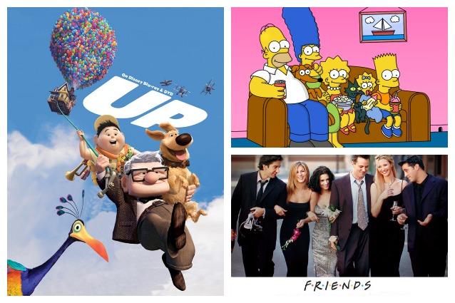 Le 10 case di sitcom e cartoni più famosi della tv