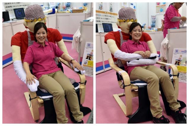 Yasuragi Chair, la sedia che abbraccia chi si sente solo