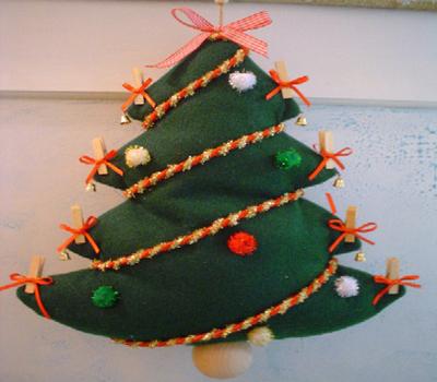 Natale in patchwork e pannolenci, decori e regali fatti in casa