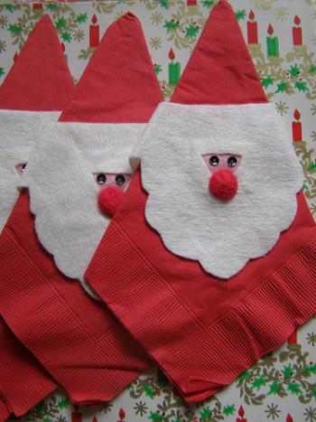 Crea Babbo Natale in pannolenci, idee fai da te per decorare la casa