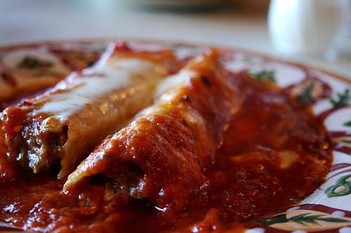 Cannelloni alla sorrentina, primo piatto per il cenone di Capodanno