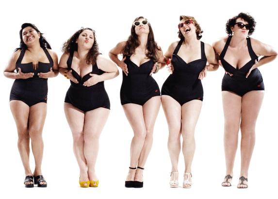 Le curvy models