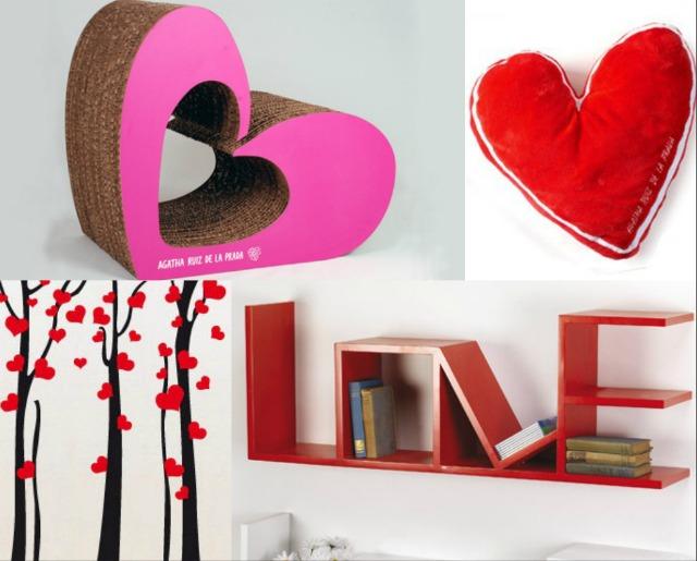 Casa romantica per san valentino for Oggetti di arredo per la casa
