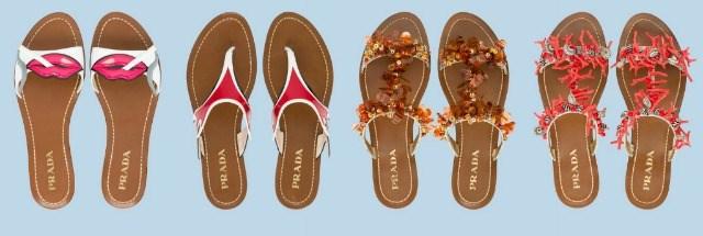 prada sandali bassi