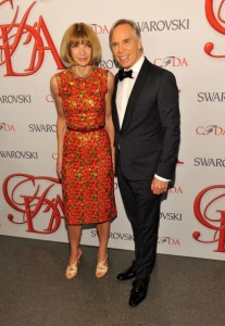 Anna Wintour ai Fashion Awards 2012
