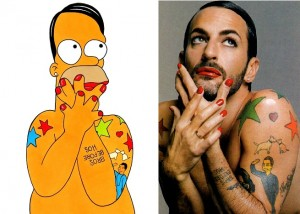 Marc Jacobs in versione Simpson
