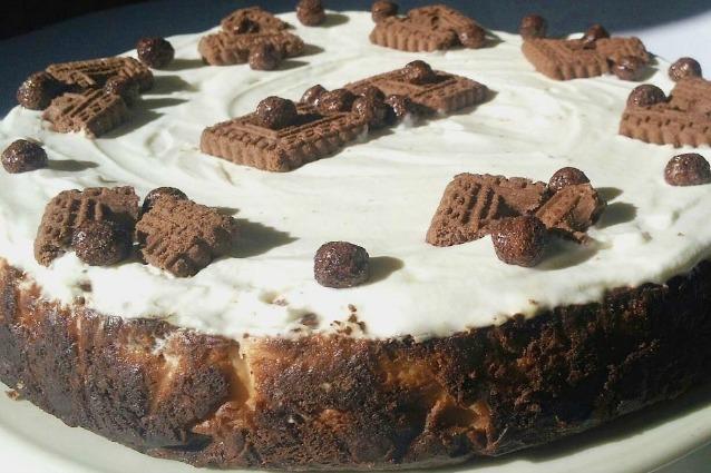 Come preparare una Cookies Cheesecake