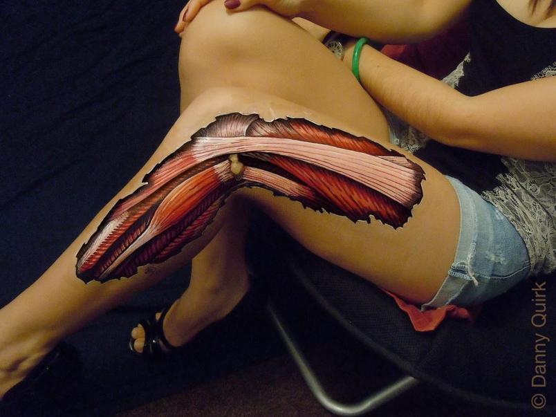 Body painting shock, mostra cosa c'è sotto la pelle umana (FOTO)