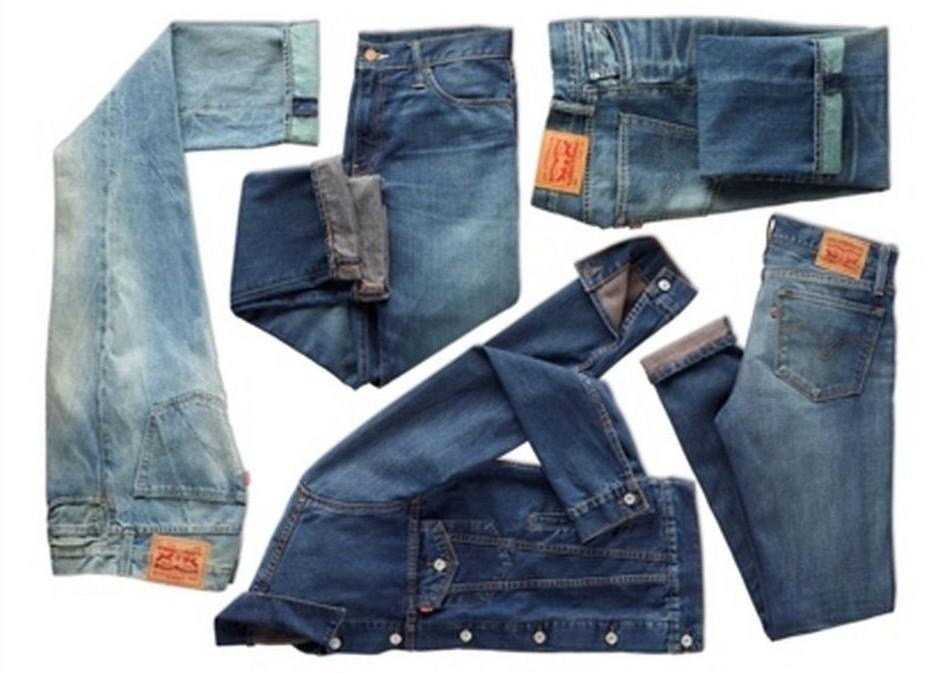 Levi's lancia i jeans ecologici realizzati con i rifiuti di plastica