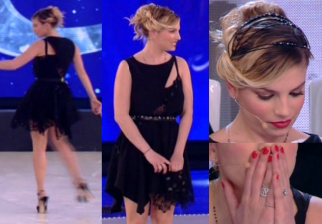 look emma marrone terza puntata serale amici 2013
