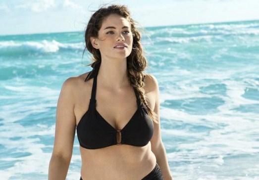 H&M contro l'anoressia: una modella curvy per la linea di costumi
