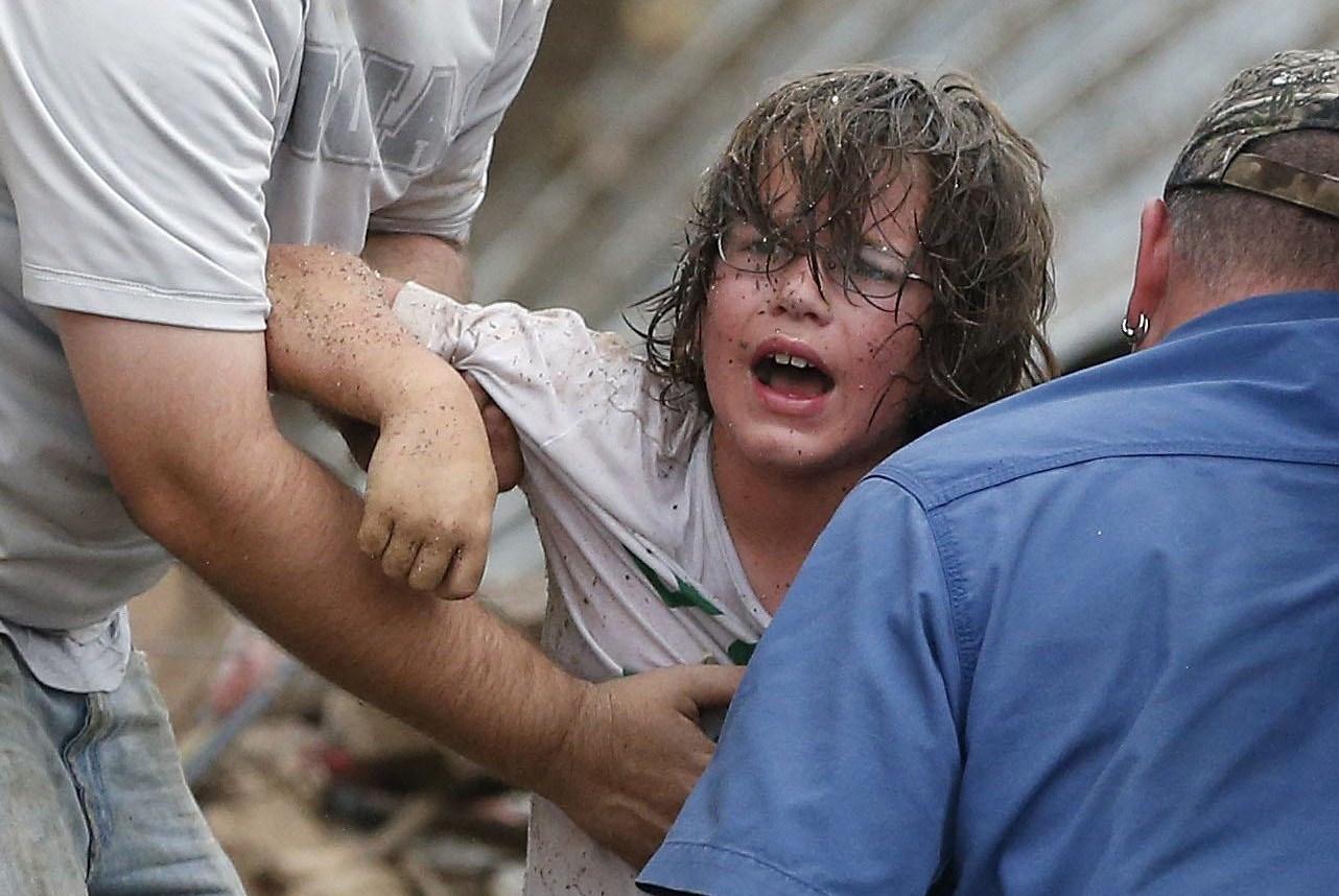 Il tornado di Oklahoma City visto con gli occhi di una bambina