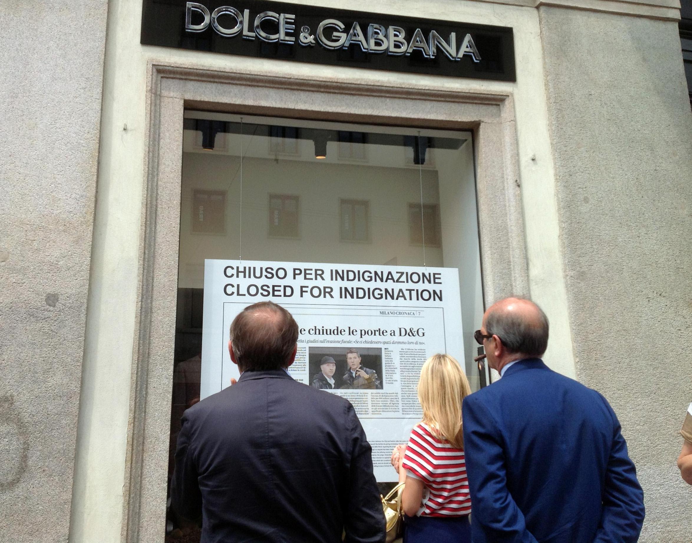 """Dolce&Gabbana, Missoni: """"Un danno d'immagine per Milano"""""""