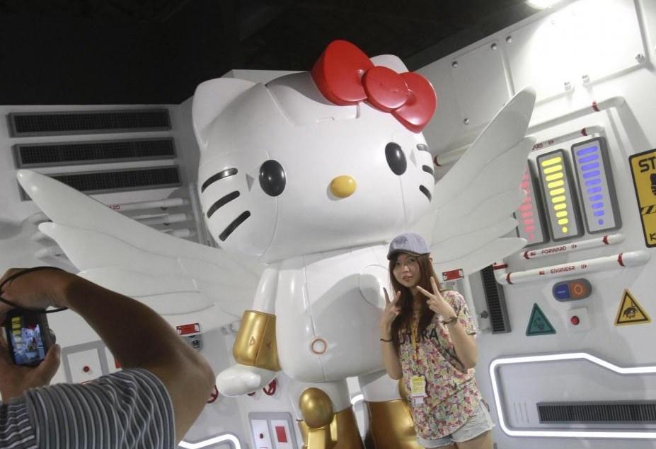 Hello Kitty in versione robot fa impazzire i fan a Taipei (FOTO)