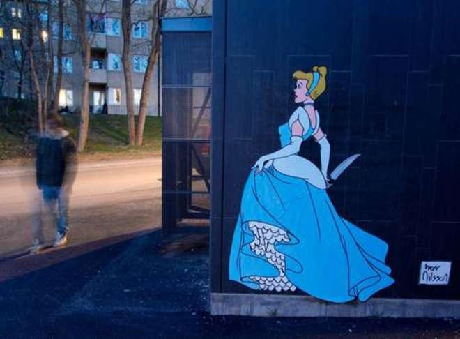 Le principesse Disney si trasformano in killer (FOTO)