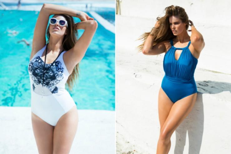 Modella over crea una linea di costumi per donne curvy