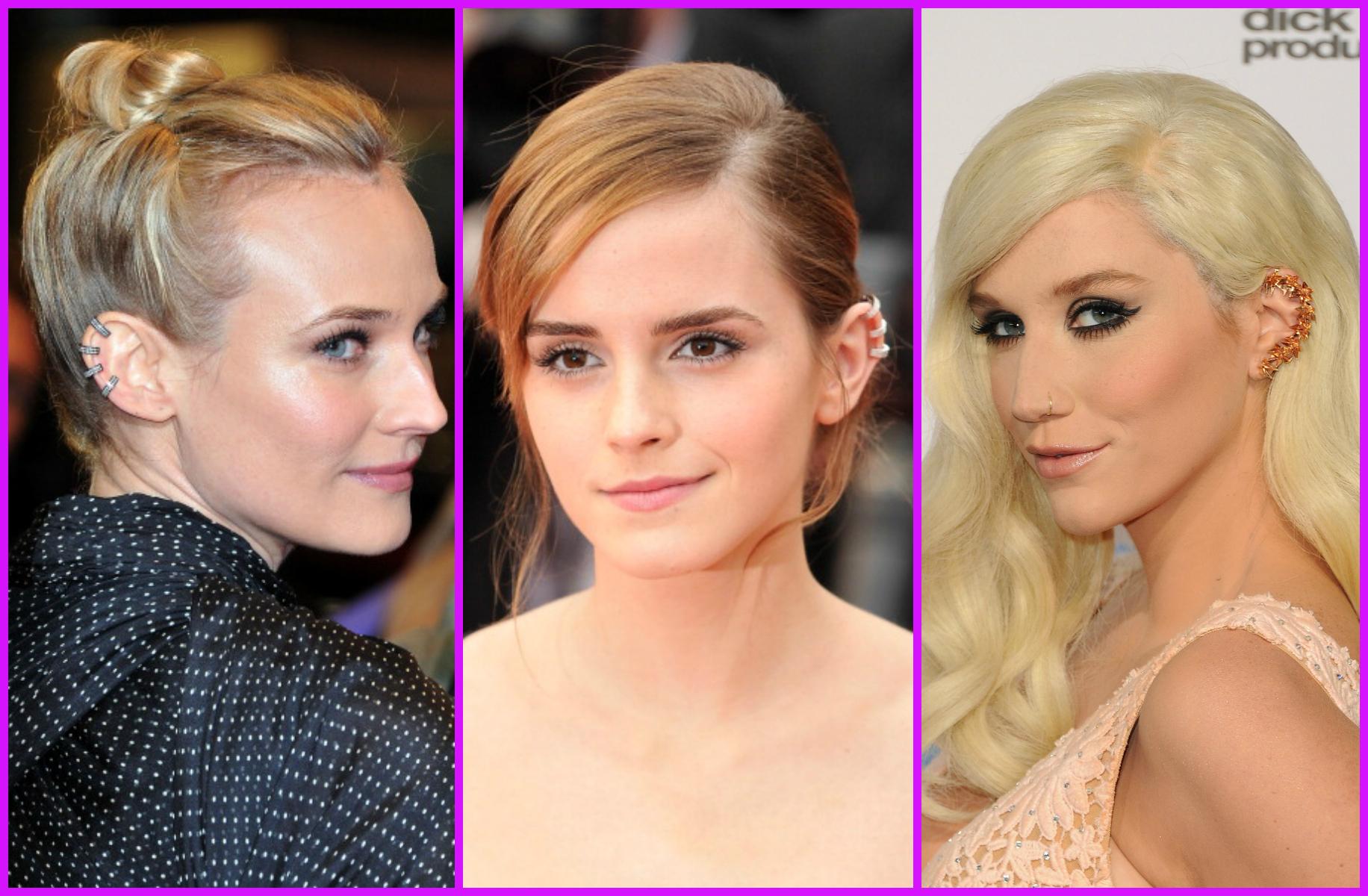 Ear Cuff: gli orecchini di tendenza che spopolano tra le star (FOTO)