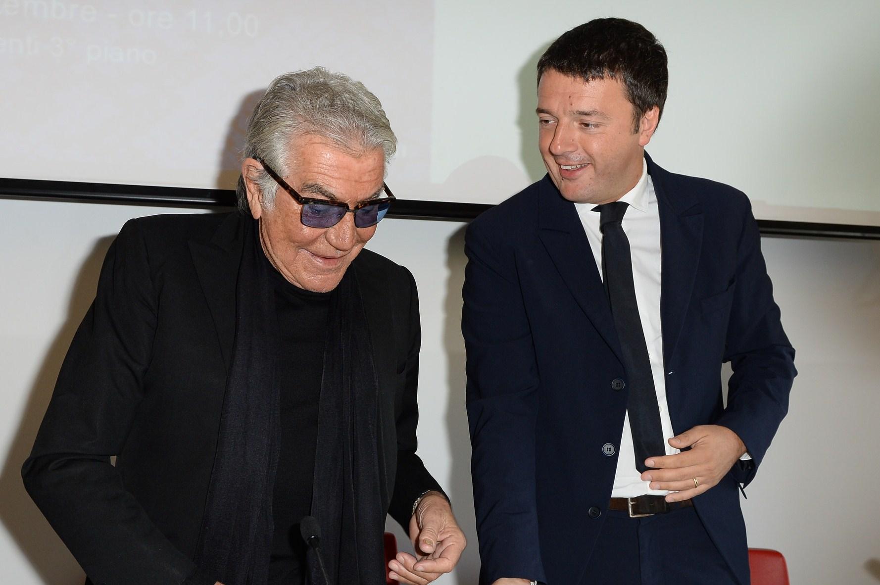 """Cavalli e Renzi presentano """"Just me"""": l'autobiografia di un mito"""
