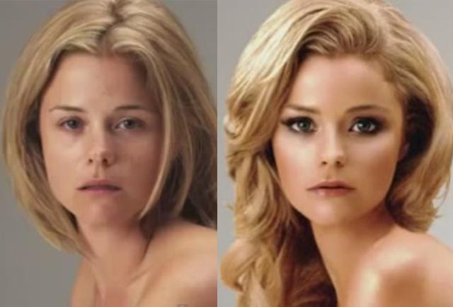 """La donna che non esiste: un video mostra i """"miracoli"""" di Photoshop"""